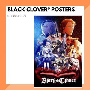Black Clover Posters