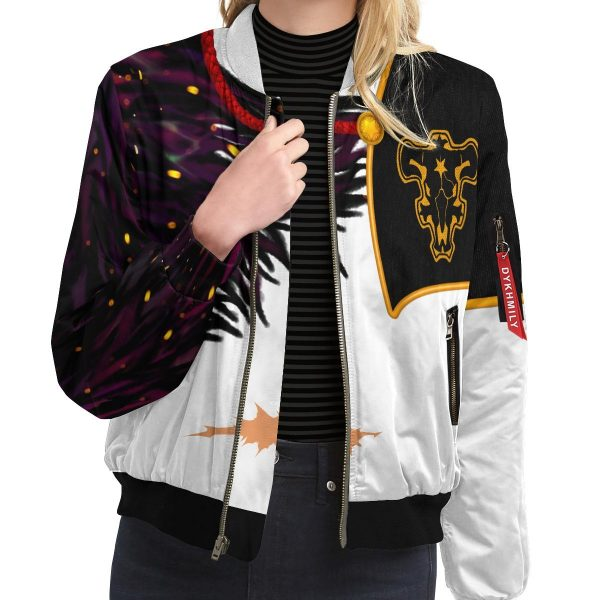 asta demon skin bomber jacket 242453 - Black Clover Merch Store