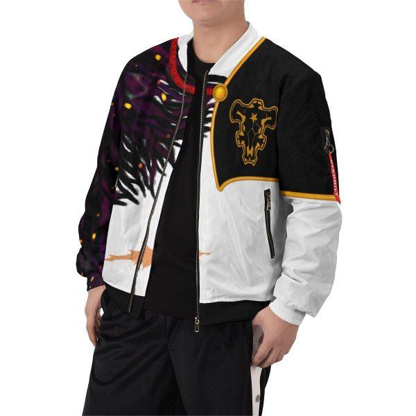 asta demon skin bomber jacket 270406 - Black Clover Merch Store