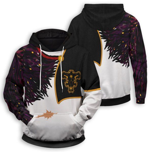 asta demon skin unisex pullover hoodie 208436 - Black Clover Merch Store