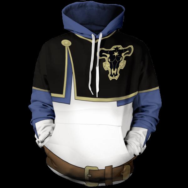 asta unisex pullover hoodie 917932 - Black Clover Merch Store