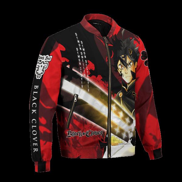 black asta bomber jacket 341392 - Black Clover Merch Store