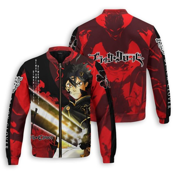 black asta bomber jacket 373531 - Black Clover Merch Store