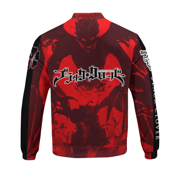black asta bomber jacket 567878 - Black Clover Merch Store