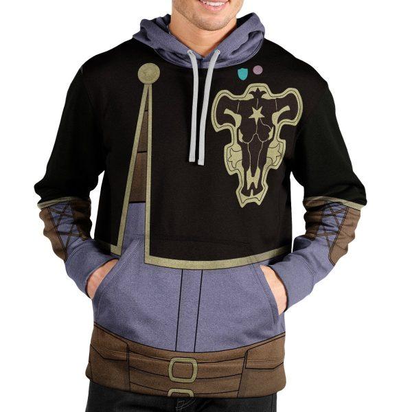 gauche adlai unisex pullover hoodie 210414 - Black Clover Merch Store
