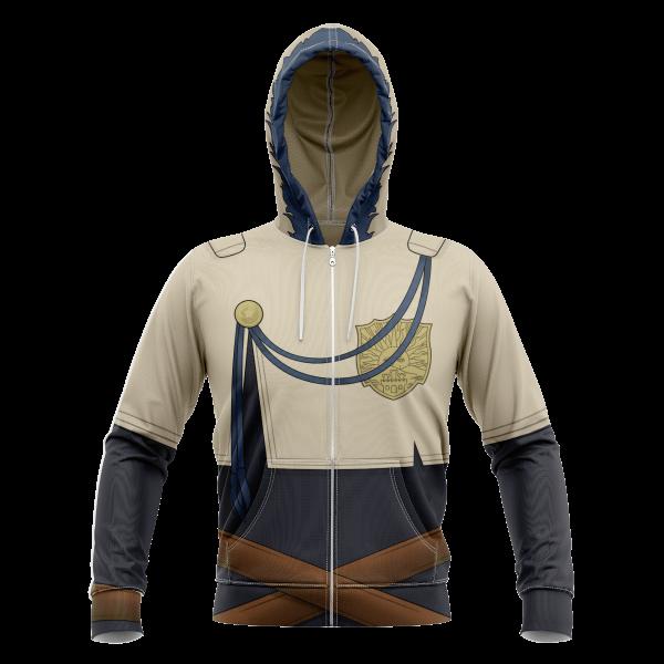 yuno unisex zipped hoodie 955580 - Black Clover Merch Store