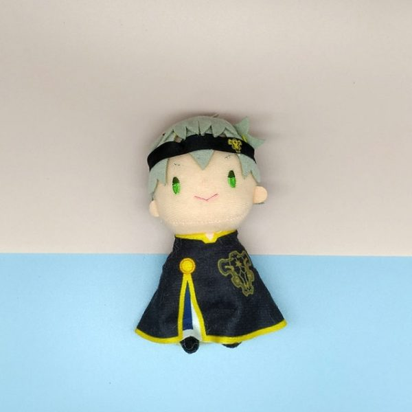 Anime Black Clover Asta Yuno Plush Toy with Cloak Stuffed Doll Toys Nice Gifts Size - Black Clover Merch Store