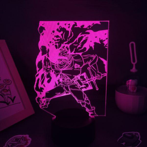 Anime Black Clover Figure Asta 3D LED USB Lava Lamp RGB Neon Night Light Bedroom Table scaled - Black Clover Merch Store