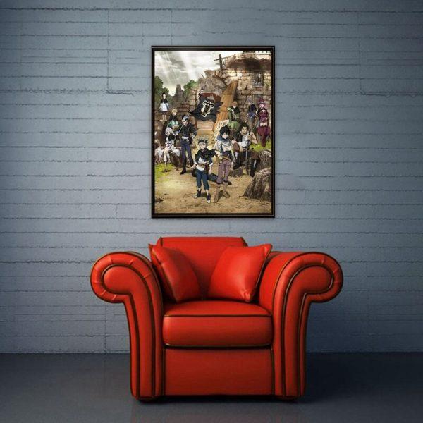 Black Clover Anime Manga Wall Silk Poster Scroll Pictuce Hanging 29 42cm 2 - Black Clover Merch Store