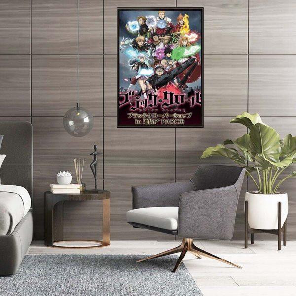 Black Clover Anime Manga Wall Silk Poster Scroll Pictuce Hanging 29 42cm 4 - Black Clover Merch Store