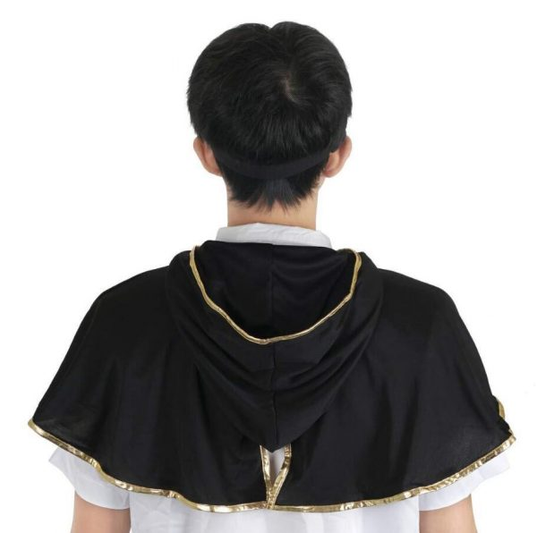 Black Clover Asta Cloak Headband Anime Cosplay Costume 2 - Black Clover Merch Store