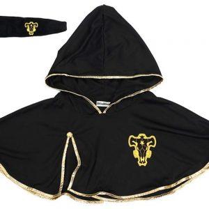 Black Clover Asta Cloak Headband Anime Cosplay Costume - Black Clover Merch Store