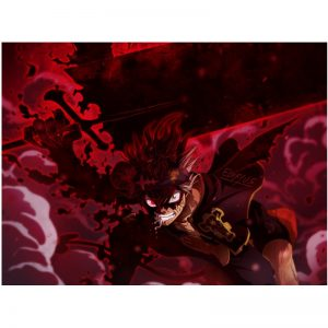 Black Clover Japanese animation cartoon Art Poster Cartoon Pictures Artwork Canvas Paintings Wall Art for Home - Black Clover Merch Store