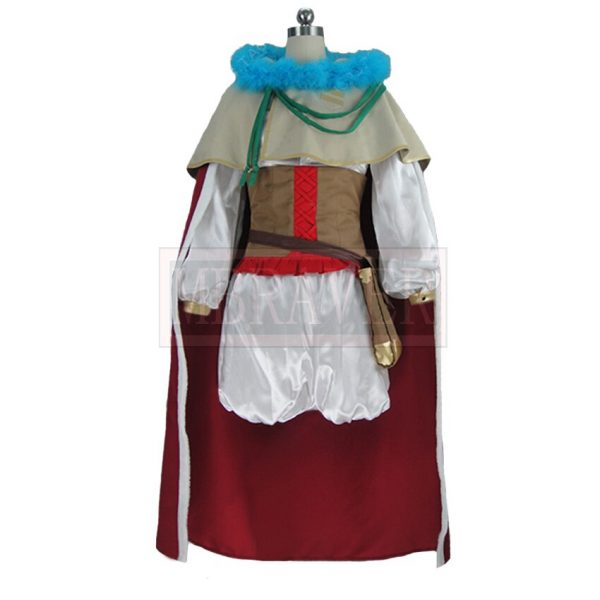 Black Clover Mimosa Vermilion Cos Halloween Party Cosplay Costume Custom Made Any Size 1 - Black Clover Merch Store
