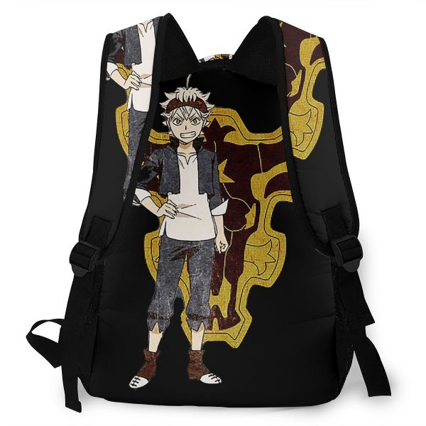 Black Clover School Bags ASTA Black Clover Beautiful backpack for Men Women 3 - Black Clover Merch Store