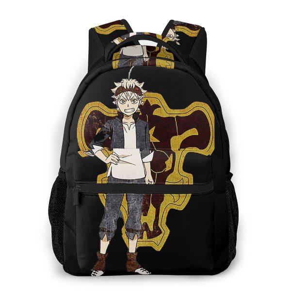Black Clover School Bags ASTA Black Clover Beautiful backpack for Men Women - Black Clover Merch Store
