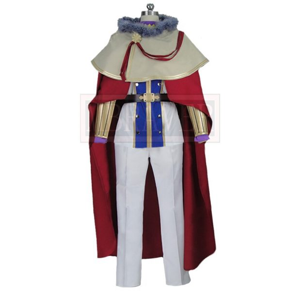 Black Clover William Vangeance Christmas Halloween Uniform Outfit Cosplay Costume Customize Any Size 1 - Black Clover Merch Store