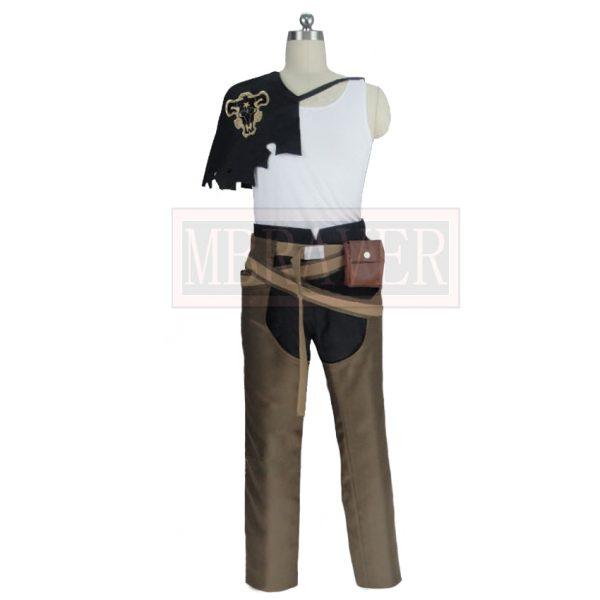 Black Clover Yami Sukehiro Cosplay Costume Halloween Uniform Full Set Any Size 1 - Black Clover Merch Store