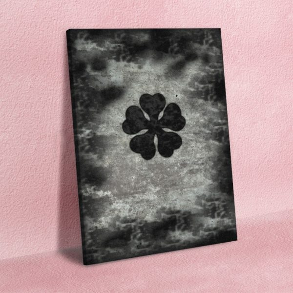 Canvas HD Prints Pictures Plant Wall Art Painting Black Clover Five Leaf Home Decoration Modular Poster - Black Clover Merch Store
