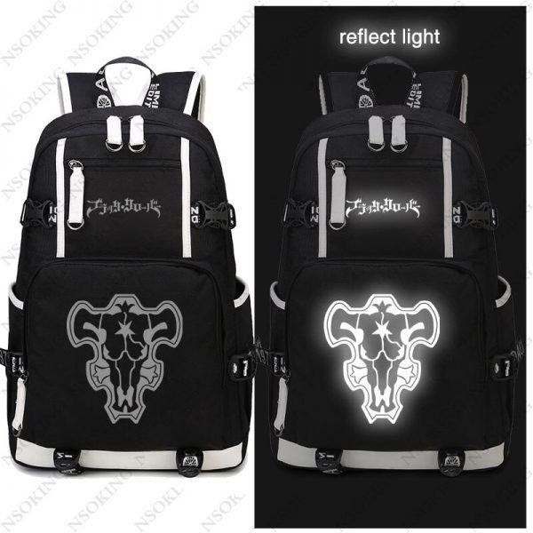 New Black Clover Backpack Asta cosplay Nylon School Bag School Student Teenagers Travel Bags 3 - Black Clover Merch Store