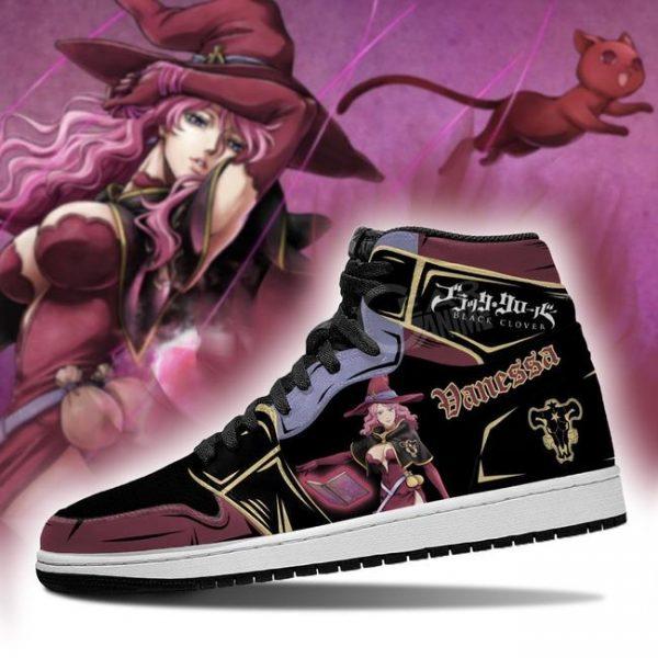 black bull vanessa jordan sneakers black clover anime shoes gearanime - Black Clover Merch Store