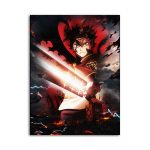 Black Clover Japan Animation Pictures Canvas Painting Posters and Prints Decorative Modern Picture Living Room Home Decor