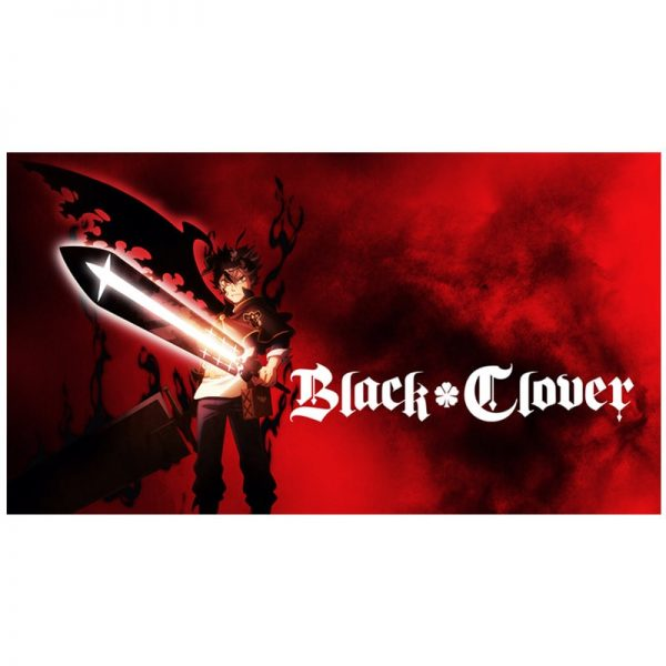 Black Clover Japanese animation cartoon Art Poster Cartoon Pictures Artwork Canvas Paintings Wall Art for Home Decor painting