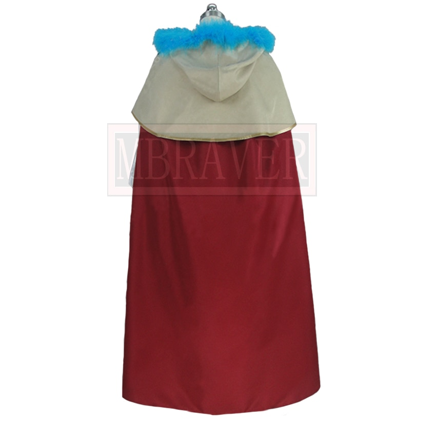 Black Clover Mimosa Vermilion Cos Halloween Party Cosplay Costume Custom Made Any Size
