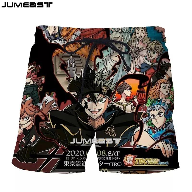 Black Clover Shorts: