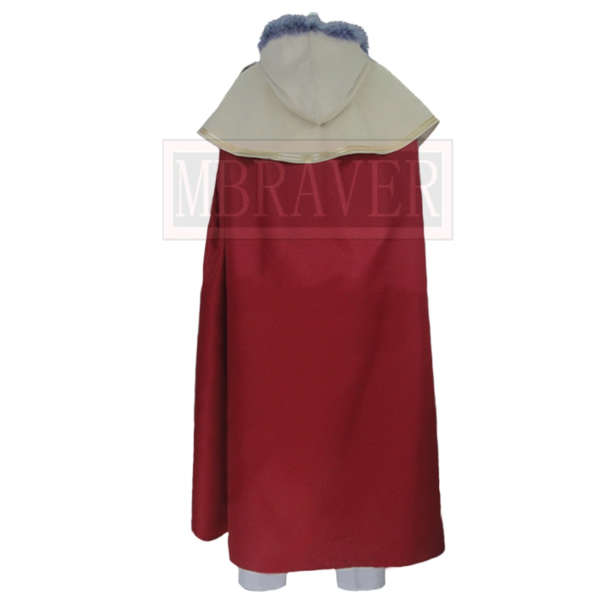 Black Clover William Vangeance Christmas Halloween Uniform Outfit Cosplay Costume Customize Any Size
