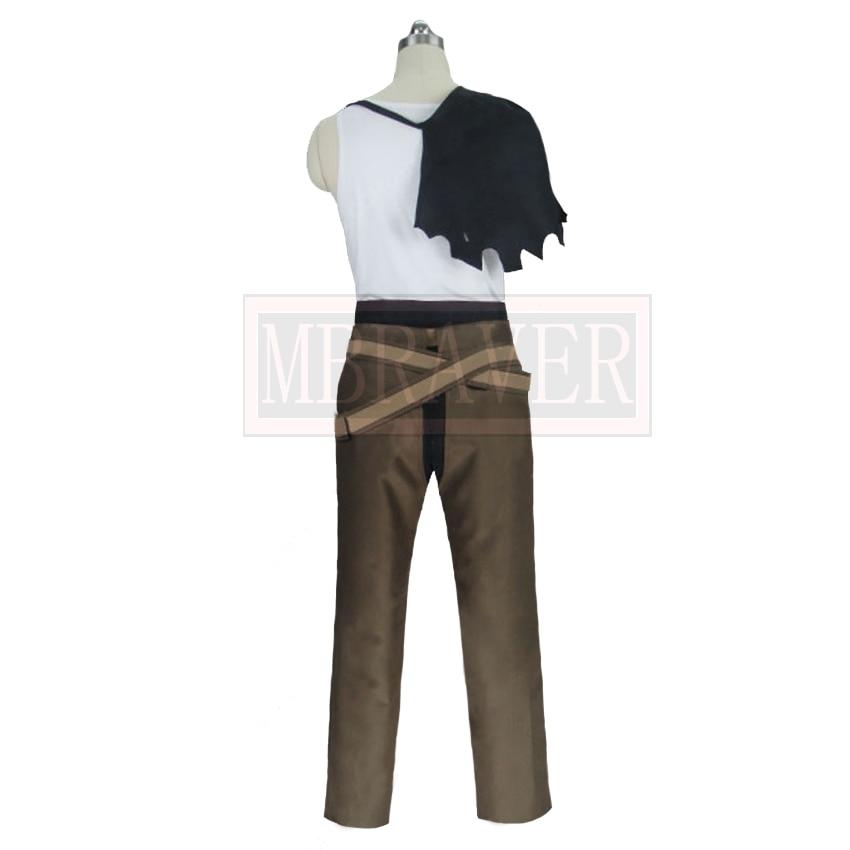 Black Clover Yami Sukehiro Cosplay Costume Halloween Uniform Full Set Any Size