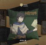 Stuffed Anime Black Clover Pillow Cotton Toys For Children Birthday Gift Cartoon Asta Yuno Sofa Cushion Square Pillows Plush Toy