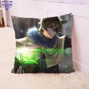 Stuffed Asta Pillow Toy For Children Yuno Noelle Yami Cushion Black Clover Pillow Gift Anime Black Clover Cotton Sofa Decoration