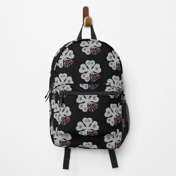 Black clover logo Backpack RB2704product Offical Black Clover Merch