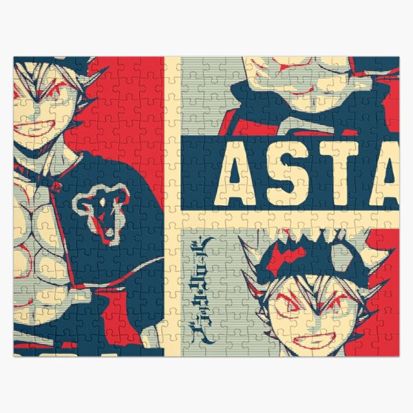 Asta - Magic Knight Jigsaw Puzzle RB2704product Offical Black Clover Merch
