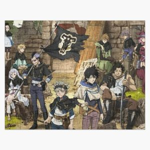 Full team black clover Jigsaw Puzzle RB2704product Offical Black Clover Merch