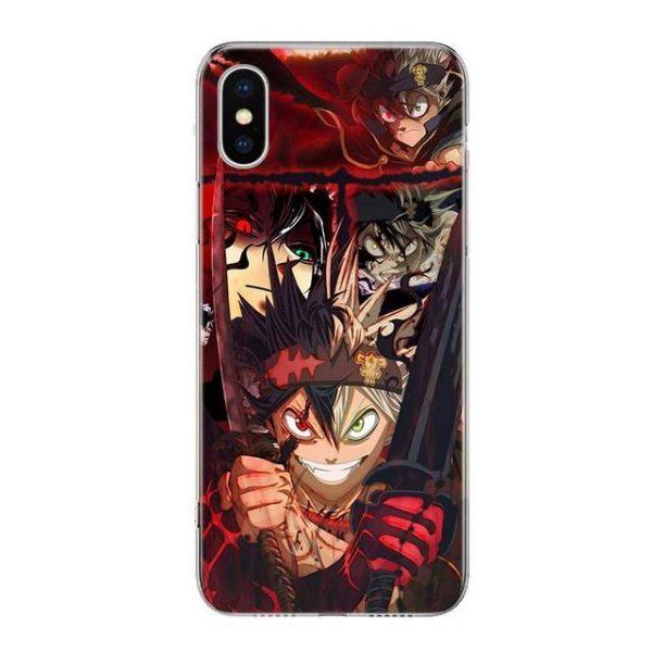 Manga Anime Black Clover Phone For Apple Iphone 13 Pro Max 11 12 Mini Case X 2.jpg 640x640 2 - Black Clover Merch Store